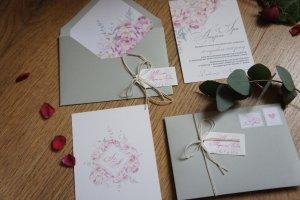 Запрошення на весілля №25 - Опис