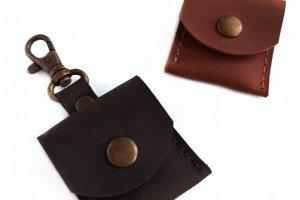 Кожаный чехол для флешки - Опис