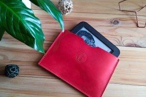 Кожаный чехол для планшета, электронной книги - Опис