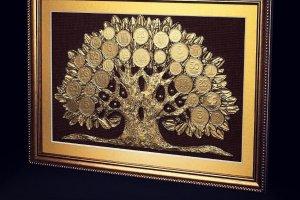 """Робота Подарок мужчине, денежное дерево """"Дуб""""."""