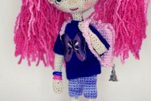 Кукла Люся с рюкзачком - ІНШІ РОБОТИ