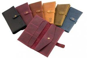 Travel wallet \ Портмоне з натуральної шкіри - Опис