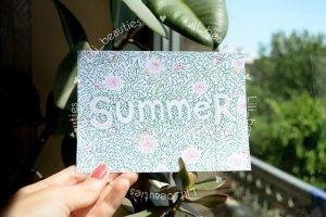 """Листівка """"Summer"""" - Опис"""