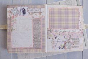 Свадебный подарок свадебный фотоальбом Violet - Опис