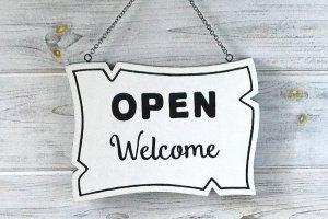 Вивіска двостороння «Open/Closed»