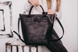 Сумка женская из кожи, большая сумка, сумка ручной работы - ІНШІ РОБОТИ