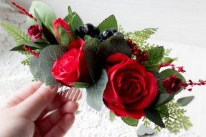 Червоний гребінець з ягодами. - ІНШІ РОБОТИ