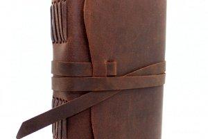 Блокнот Кожаный плюс в Подарок кошелек ручной работы - Опис