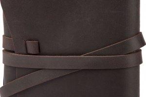 Кожаный блокнот ручной работы А5 подарок  - Опис
