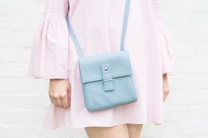 """Робота Голубая сумочка через плечо """"Ponika"""" Маленькая сумка"""