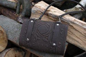 сумка Трипілля -міні коричнева - Опис
