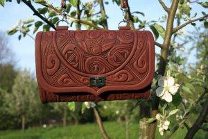 сумка клатч Трипілля -бордо - Опис