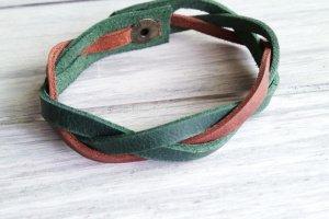 Кожаный браслет - Опис