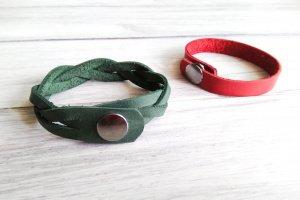 Кожаные браслеты - Опис