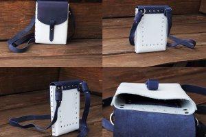 Женская сумка на заклепках - ІНШІ РОБОТИ