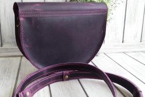Женская кожаная сумочка. - Опис