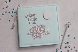 Робота Дитячий альбом зі слоником, Альбом для мальчика