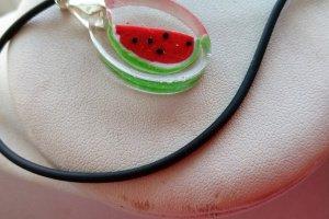 Кулон с ягодами Арбузик - Опис