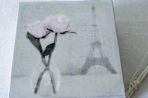 "Робота Шкатулка ""Ах,Париж."""