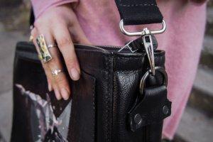 Кожаная сумка Кит - Опис