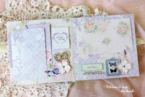 Свадебный подарок свадебный фотоальбом Кружево - Опис