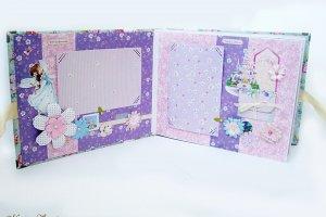 Детский фотоальбом для новорожденной девочки My Girl - Опис