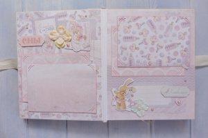 Детский фотоальбом для новорожденной девочки Provence - Опис