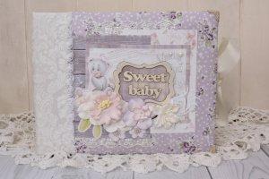 Робота Детский фотоальбом для новорожденной девочки Lavender