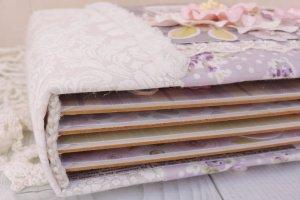 Детский фотоальбом для новорожденной девочки Lavender - Опис