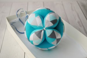Розвиваючий мячик для дитини - Іграшки Монтессорі - ІНШІ РОБОТИ