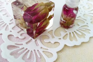 Кулон с розами Розовый дуэт - Опис
