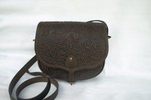 Робота сумка шкіряна Ягдаш коричнева