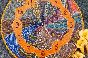 Робота годинник Африканські мотиви