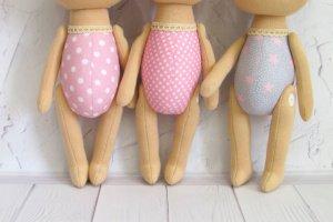 Заготовка для пошива интерьерной текстильной куклы - ІНШІ РОБОТИ