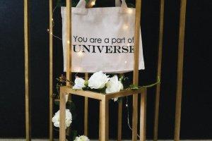 """Дизайнерская сумка-шопер """"Universe"""" - Опис"""