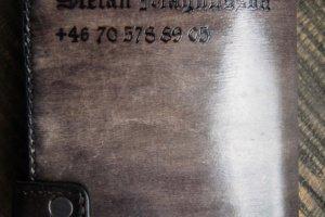 Мужское кожаное портмоне Охота - Опис