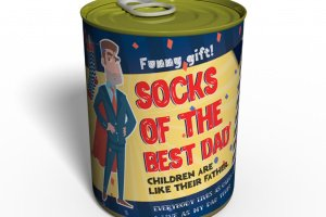 Canned Socks Of The Best Dad - Gift Father`s Day - ІНШІ РОБОТИ