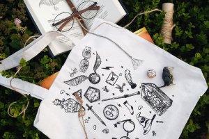 """Робота Дизайнерская сумка-шопер """"Harry Potter"""""""
