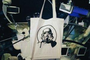 """Дизайнерская сумка-шопер """"Star wars"""" - ІНШІ РОБОТИ"""
