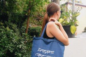 """Дизайнерская сумка-шопер """"dreams"""""""
