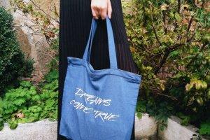 """Дизайнерская сумка-шопер """"dreams"""" - Опис"""