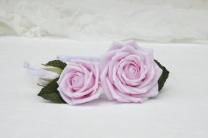 Обруч с розами, Ободок с розовыми цветами  - ІНШІ РОБОТИ