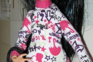 Одежда для кукол Монстер Хай. Эвер Хай. 2 Ручная работа!  - Опис