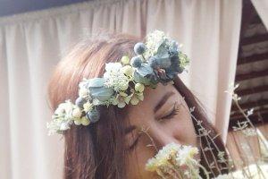 Вінок для волосся український - Опис