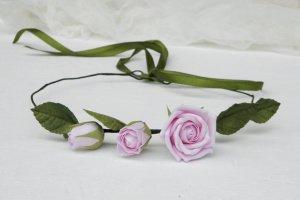 Венок на голову с розами, Розовый венок - ІНШІ РОБОТИ