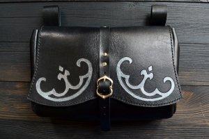 Поясна шкіряна сумка у стилі фентезі - ІНШІ РОБОТИ
