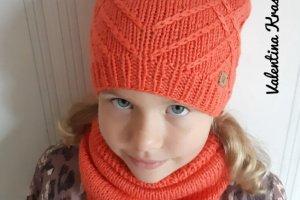 """Комплект на девочку """"Intrigue""""  (морковный цвет) - ІНШІ РОБОТИ"""