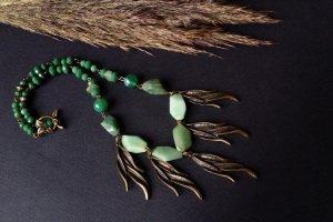 Зелене намисто Вітер у вербах - ІНШІ РОБОТИ
