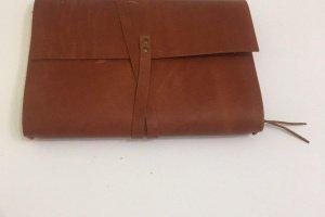 Softbook - кожаный блокнот со сменными блоками (коричневый)
