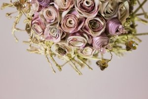 Букет нареченої  «Світанкові троянди» - Опис